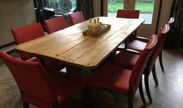 Dankzij het Oranje Fonds konden nieuwe meubels worden aangeschaft.