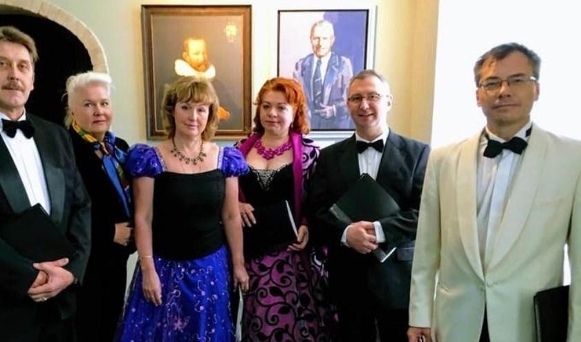 Russische liederen van het Neva Ensemble.