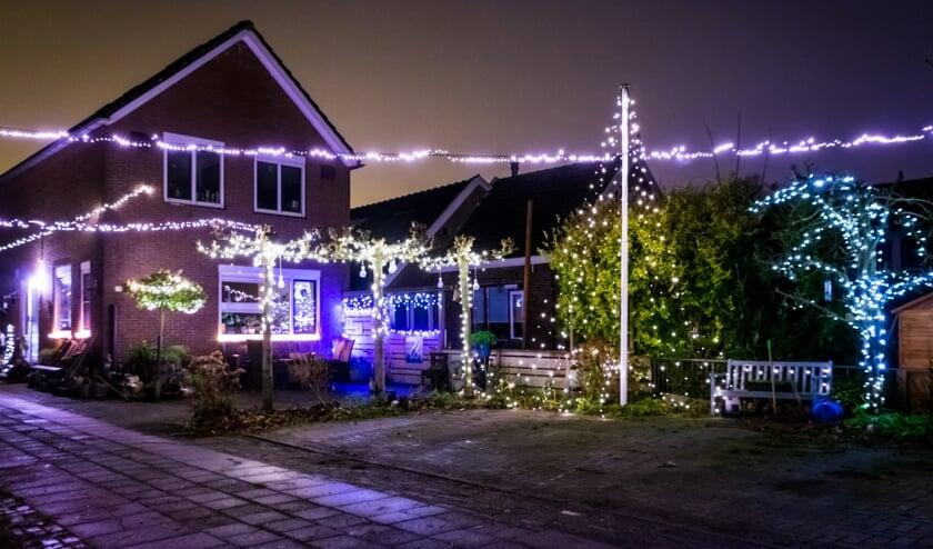 Een prachtig verlichte woning in Burgerveen.
