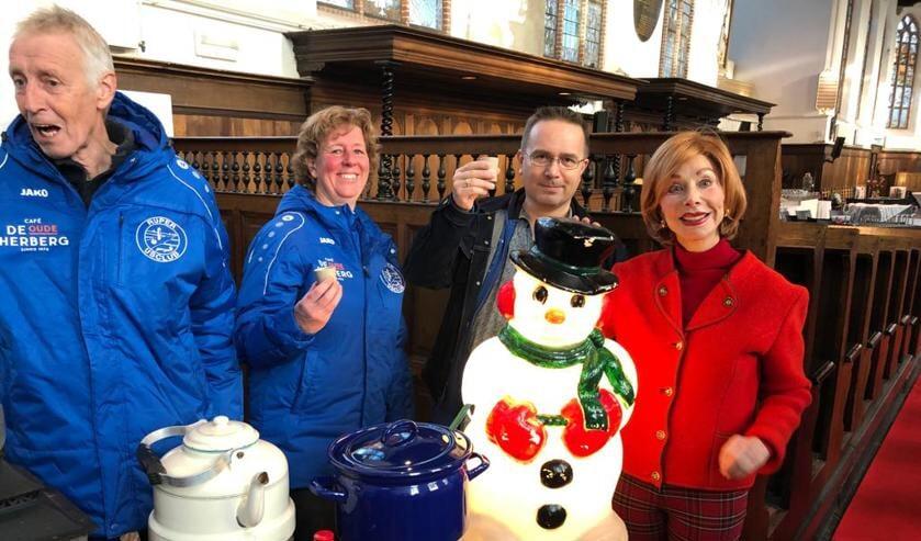 Alvast sfeer proeven met Marijke Helwegen voor Kerst op het Dorp