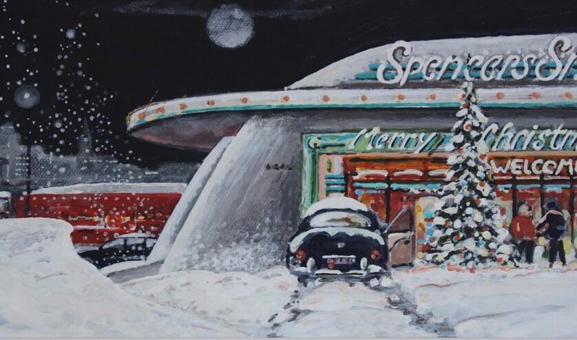 Winter- en Kerstwerken van Leo Verbruggen.
