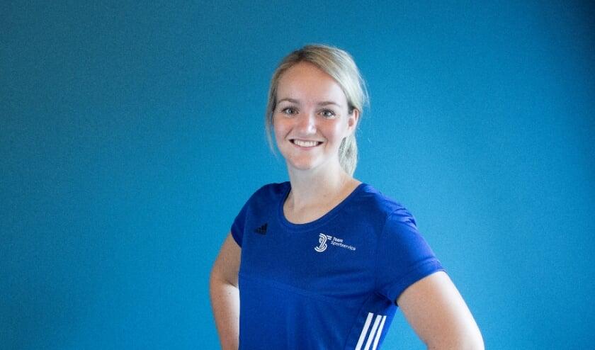 Rosa Schouten, de nieuwe  buurtsportcoach van Oostzaan.