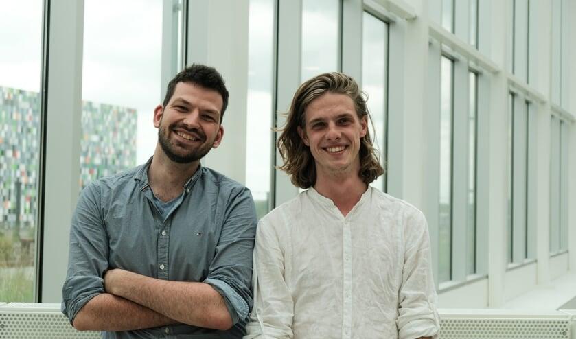 Samen met Eric Veldhausz (links) heeft Jim Brink een documentaire gemaakt over corruptie in Roemenie.