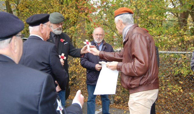 Veteranen bijeenkomst in Hippolytushoef.