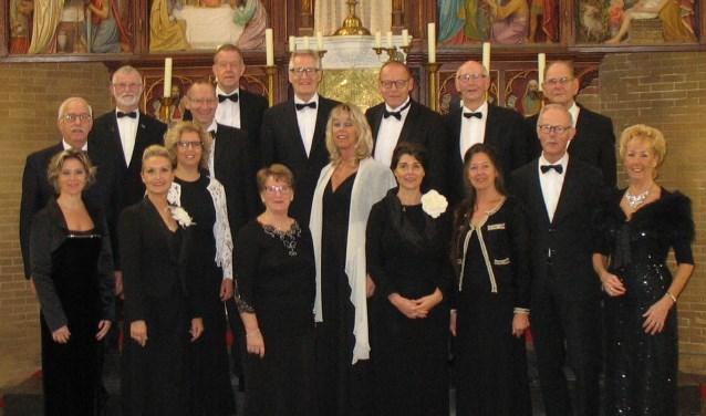 Opmeers Vocaal Ensemble geeft een prachtig concert in 't Kerkhuys in Spanbroek.