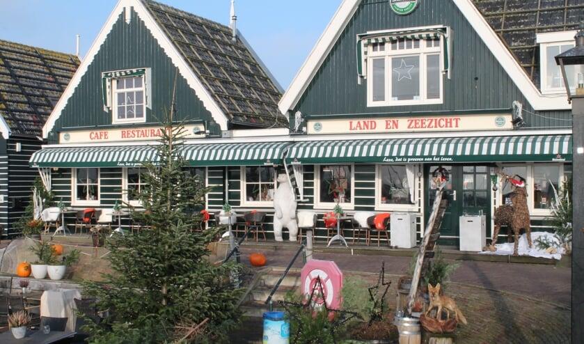 Restaurant Land- en Meerzicht in Marken.