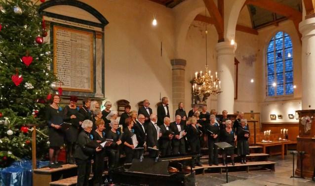 Gemengd Koor Broek in Waterland vorig jaar in de kerk van Broek in Waterland.