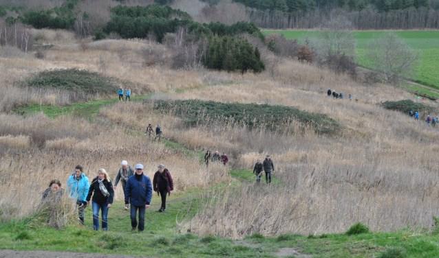Prachtige routes uitgestippeld voor de Kale Takkenwandeling 5 januari.