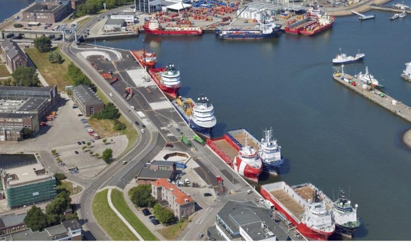 Een waterstoftankstation ontwikkelen voor maritiem en wegvervoer.