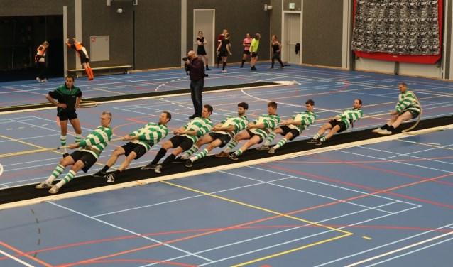 Tennisvereniging Monnickendam gaat naar het WK Touwtrekken.