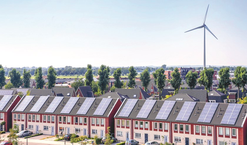 Duurzame energiebronnen in Stad van de Zon in Heerhugowaard.