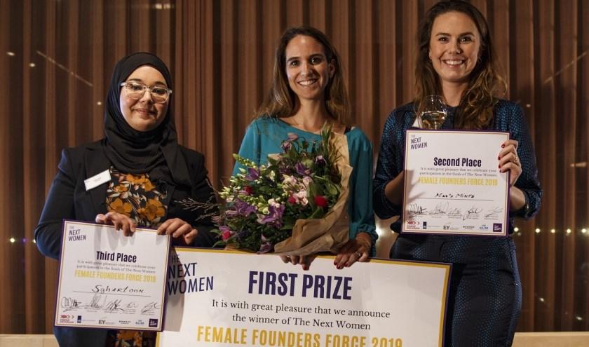 Tamar Schapira van SenseIT is uitgeroepen tot winnares van de finale van het The Next Women Female Founders Force Program