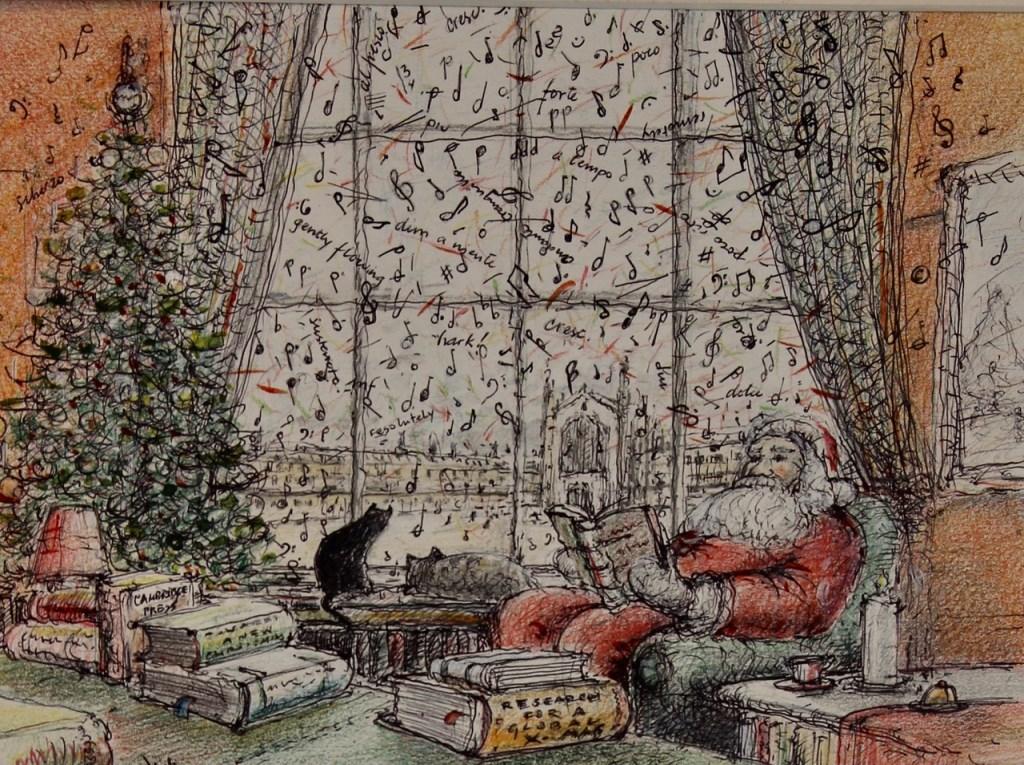 Winter- en Kerstwerken van Leo Verbruggen.  © rodi