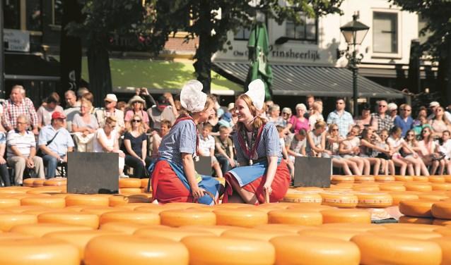 De verblijfsduur van toeristen op de kaasmarkt steeg met 3%.