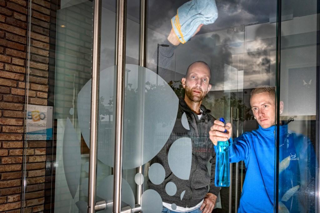Ramon Reukers en Matthijs van Baasbank  (Foto: vincentdevriesfoto.nl) © rodi