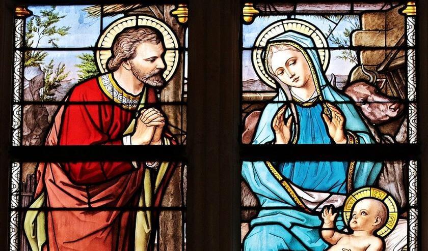 Met kerst vieren veel mensen de geboorte van Jezus.
