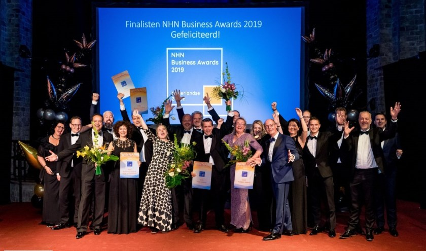 Winnaars NHN Business Awards 2019.