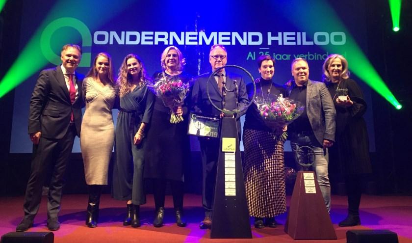 De prijzenregen voor ondernemers in Heiloo is elk jaar weer een bijzonder moment.