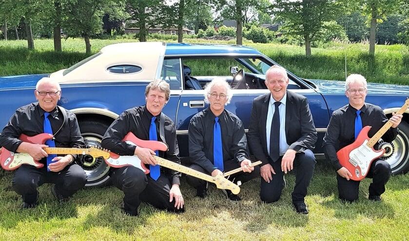 The Blue Bandits: taaie rockers met liefde voor de jaren zestig.