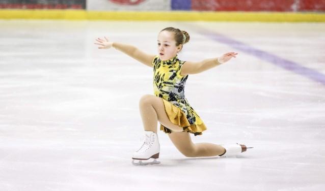 Beginnende talenten schitteren op het ijs.
