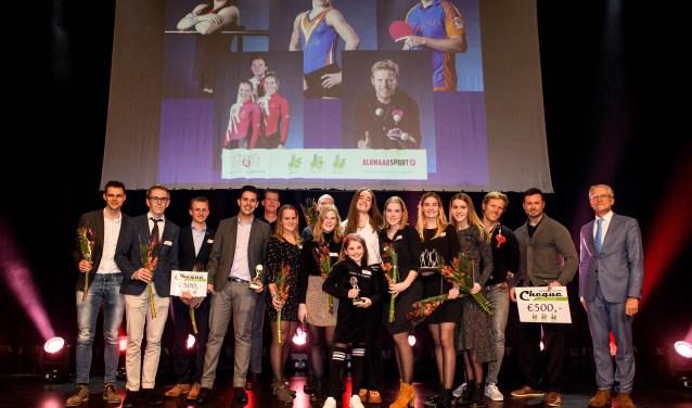 De Alkmaarse sportkampioenen.