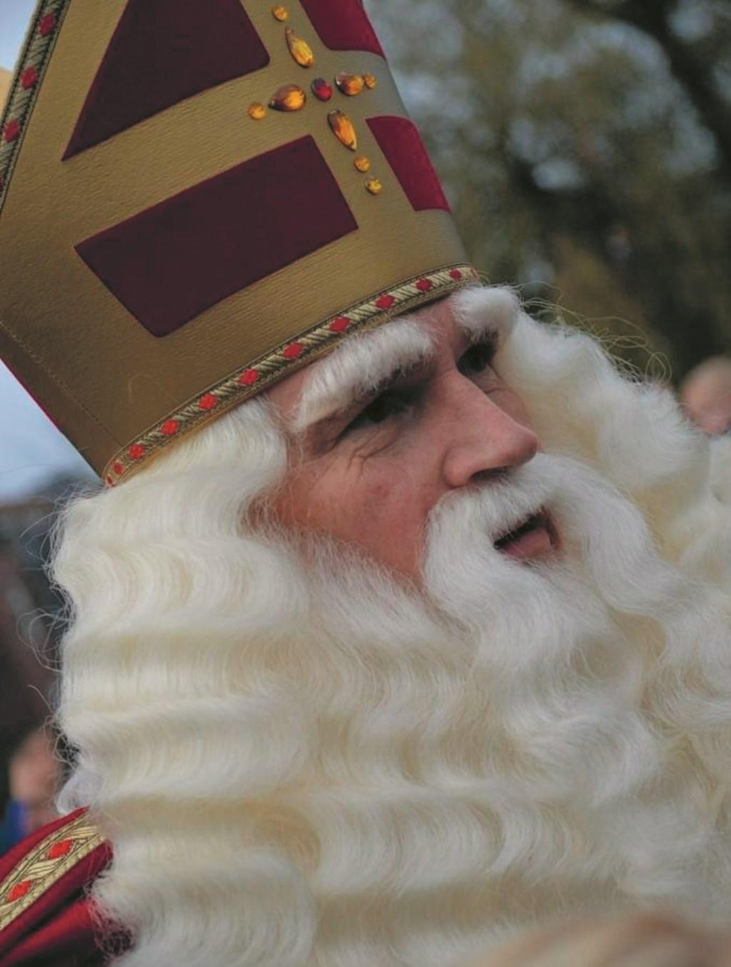 Een kort bezoekje van Sinterklaas maakt het heel speciaal.  © rodi
