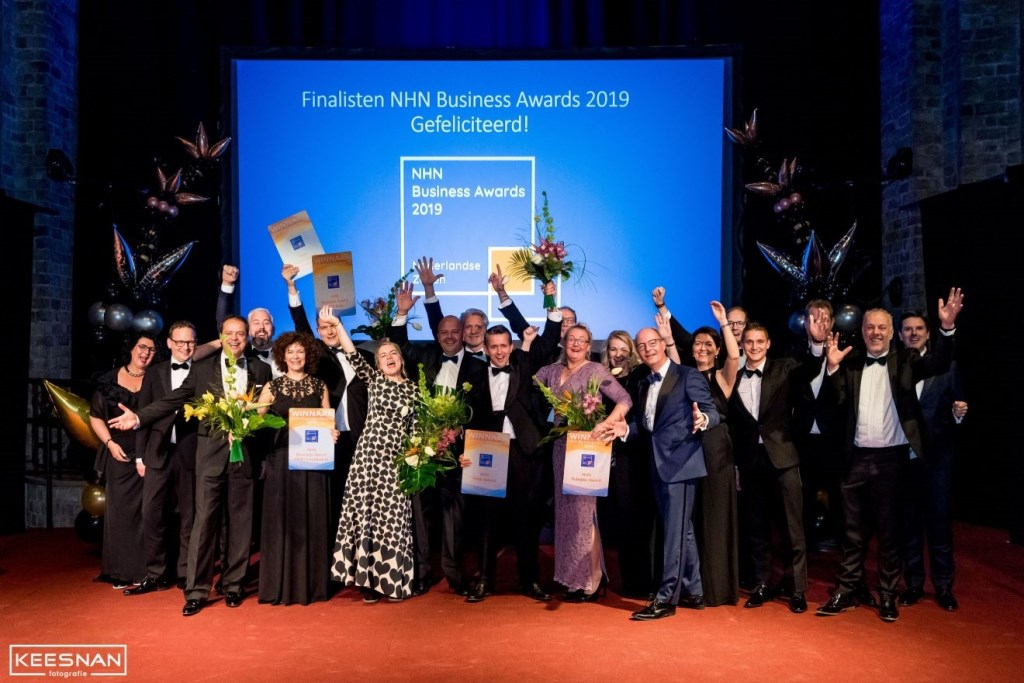 Winnaars NHN Business Awards 2019. (Foto: Keesnan Fotografie) © rodi