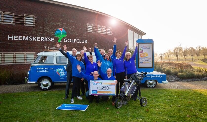 Heemskerkse Golfclub ontvangt een eenmalige extra bijdrage van 1.250 euro van de VriendenLoterij.
