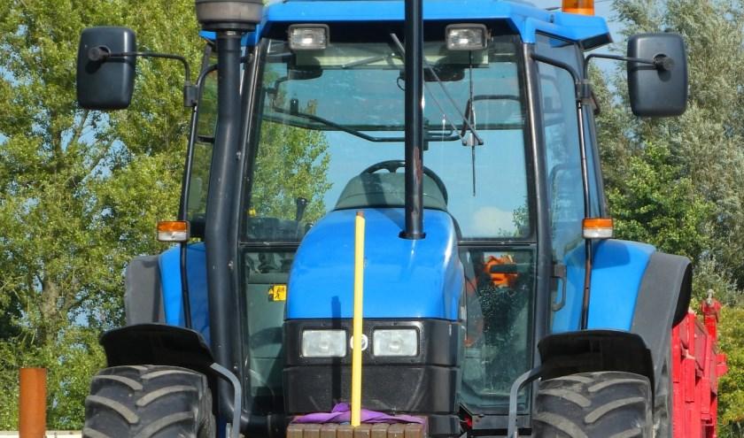 Niet één maar meer dan honderd tractoren komen vanmiddag aan in Haarlem bij het Provinciehuis.