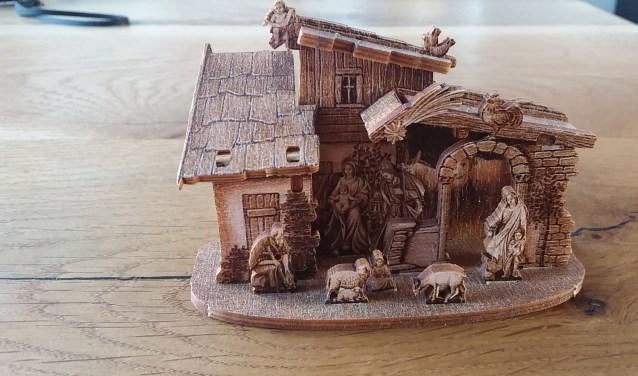 Kerststal van Hans Schipper.