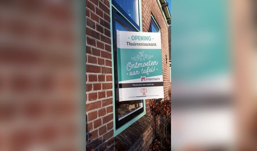 In alle Hoornse wijken is een thuisrestaurant.