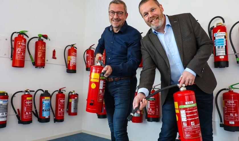 Wim van Saane en Nils Koning