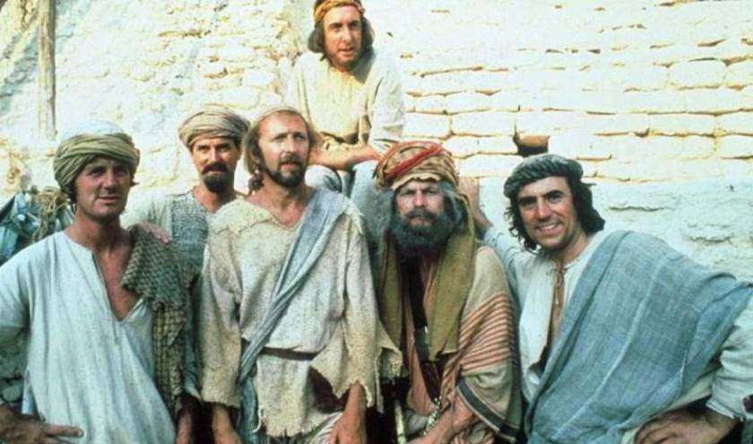 Monty Python's Life of Brian te zien in het Dorpshuis in Uitgeest.