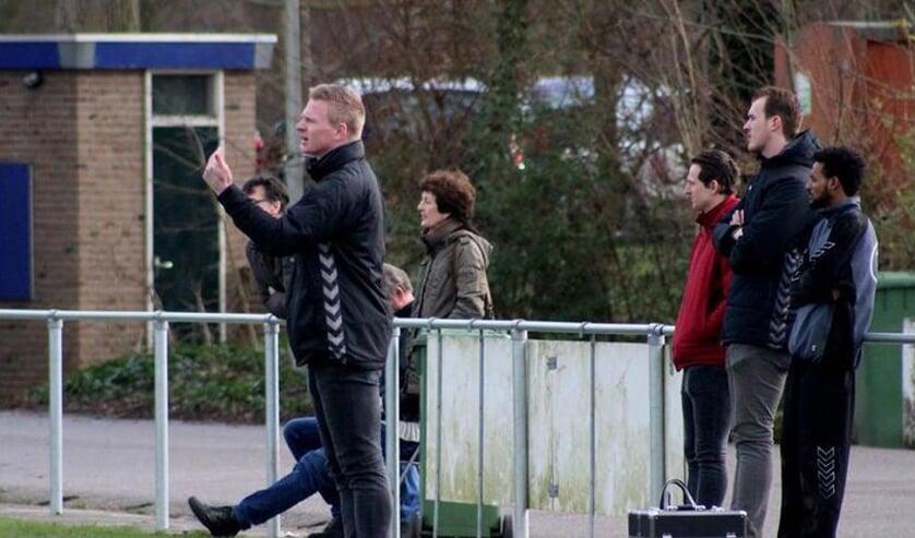 Coach Wouter Blokdijk is bezig aan zijn laatste seizoen bij Vrone.