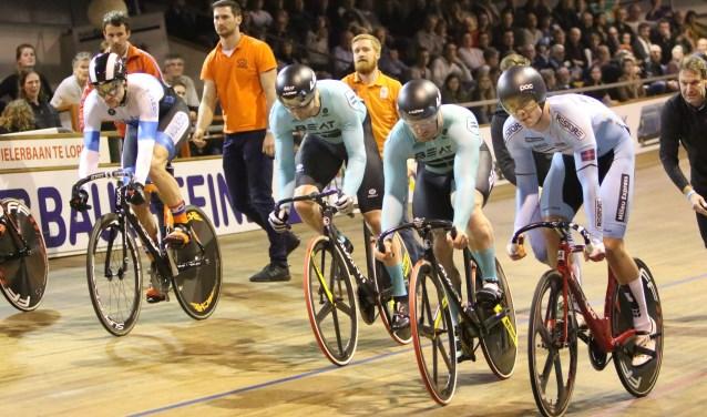 Alkmaar maakt zich op voor het Nederlands Kampioenschap Baanwielrennen.