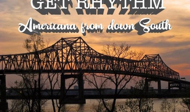 De band Get Rythm is te zien in de Harmonie.