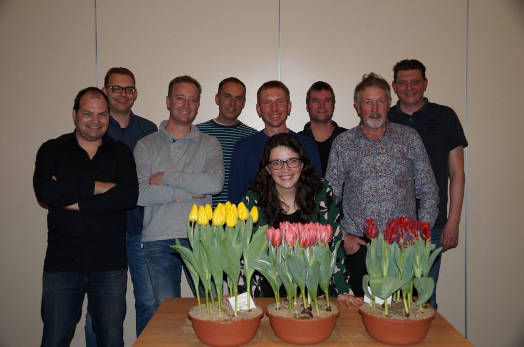 De kampioenen van de afgelopen jaren: Axel Vroling, Ronald Mes, Mattie Obdam, Mark Ruiter, Adam Pyta, Tessa Korver, Coen van der Geest, A.J.J. Langedijk en Hans Mes. Foto: aangeleverd © rodi