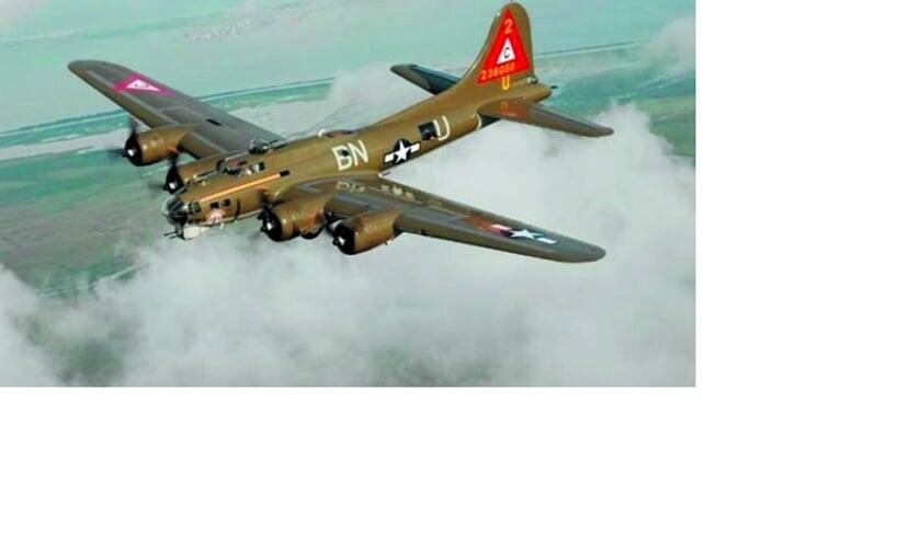 Een Amerikaanse B17-vliegtuig stortte in 1944 neer in een weiland in Uitgeest.