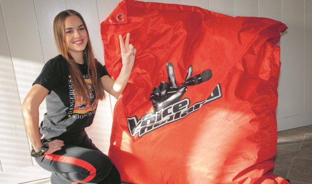 Mikki van Wijk stond afgelopen vrijdag in de eerste live show van The Voice of Holland.
