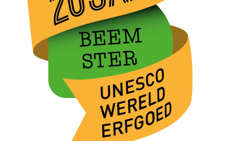 Logo 20 jaar Beemster Werelderfgoed