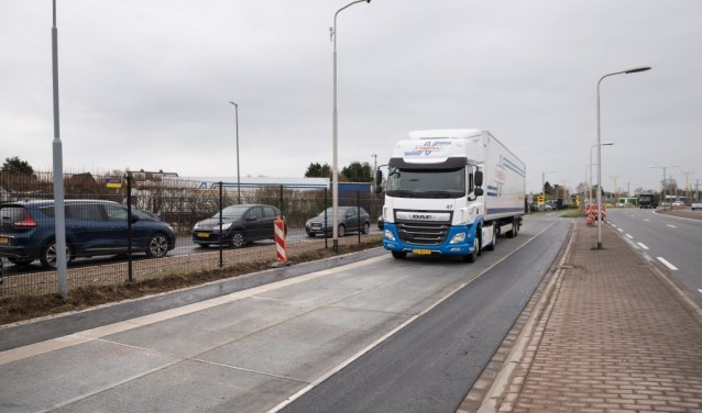 De SolaRoad is aangelegd op de Fokkerweg in Oude Meer.