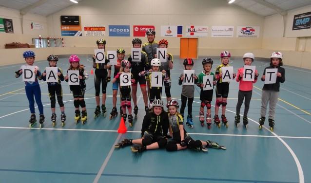 Kom ook naar de open dag van Radboud Inline-Skating in Medemblik. Gezellig en sportief!