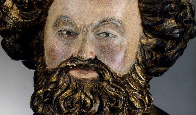 Beeld van Petrus gemaakt door Claus de Werve.
