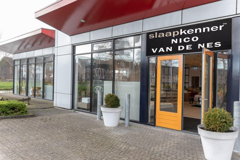 De entree van Slaapkenner Nico van de Nes in Broek op Langedijk. (Foto: VINCENT DE VRIES RODI MEDIA) © rodi