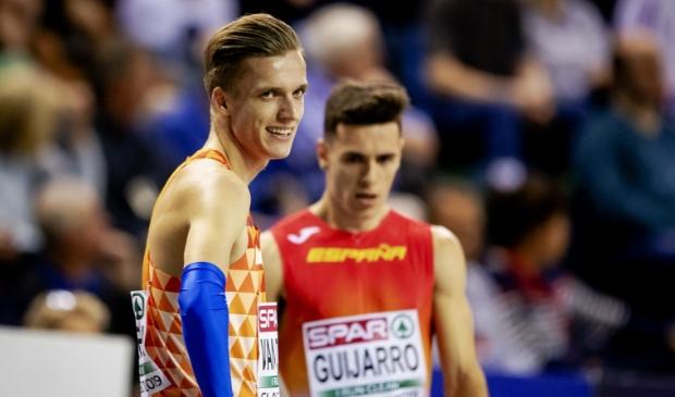 <p>Tony van Diepen pakte in Polen de wereldtitel op de 4x400 meter.</p>