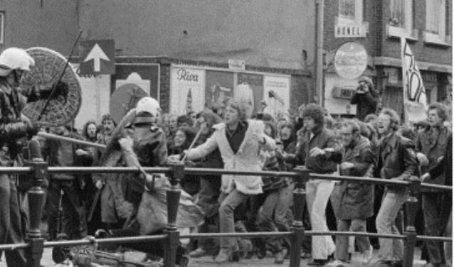 Het Amsterdam van de jaren '60 en '70.