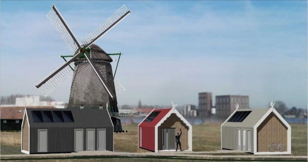 Komen er in de nabije toekomst klaine hoisies in de Zaanstreek? Foto: Impressie StudioKramer © rodi