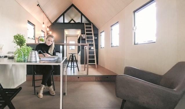 Leven in een tiny house is volgens Marjolein Jonker zo gek nog niet.
