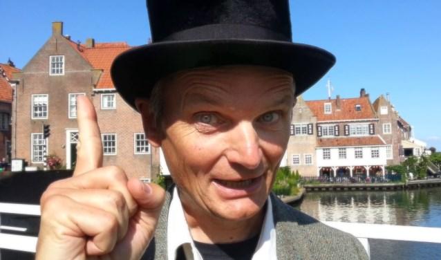 Verhalenverteller Johan.