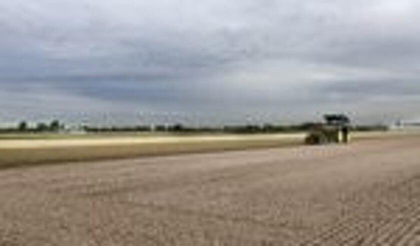 Agrarische grond dat tijdelijk wordt verpacht.